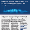 Embedded Software Solutions: Three Tools For Asset Management Cost Reduction