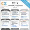 cx network editorial calendar
