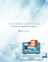Cover of Modern Learning:  Innovate, Collaborate and Disrupt Whitepaper