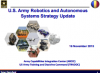 U.S. Army Robotics and Autonomous Systems Strategy Update