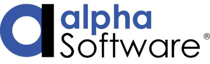 Alpha Software Logo 18.11.16