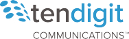 Ten Digit Communications Logo