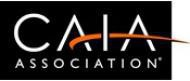 Chartered Alternative Investment Analyst (CAIA) Association Logo