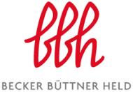 Kanzlei Becker Büttner Held Rechtsanwälte Wirtschaftsprüfer Steuerberater PartGmbB Logo