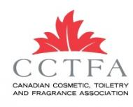 Canadian Cosmetic, Toiletry and Fragrance Association (CCTFA)