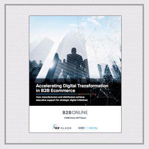 Accelerating Digital Transformation in B2B Ecommerce