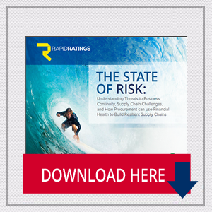 The State of Risk: Understanding Threats to Business Continuity, Supply Chain Challenges, and How Procurement can use Financial Health to Build Resilient Supply Chains