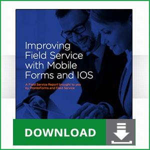 Field Service Guide for Mobile Forms and IOS