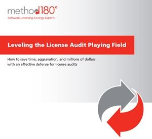 Leveling the License Audit Playing Field