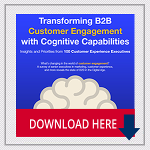 Infographic: Transforming B2B Customer Engagement with Cognitive Capabilities