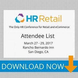 HR Retail 2017 Attendee List