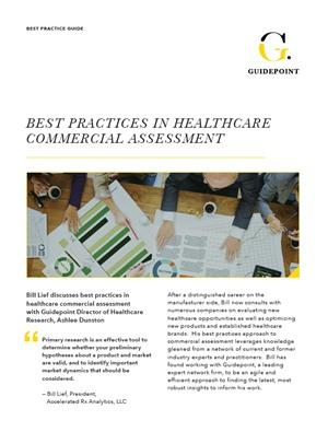 Best Practices In Healthcare Commercial Assessment