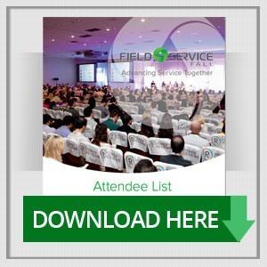 Field Service 2016 Attendee List