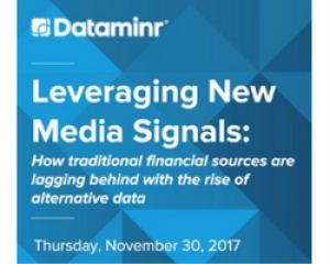 Leveraging Social Media Signals: How traditional financial sources are lagging behind with the rise of alternative data