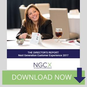 Next Generation Customer Experience Director's Report 2017