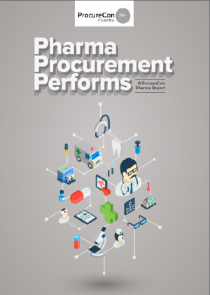 Pharma Procurement Performs - ProcureCon Pharma Report
