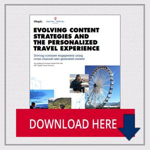 Evolving Content Strategies and the Personalized Travel Experience