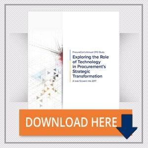 CPO Study 2017: Exploring the Role of Technology in Procurement Strategic Transformation