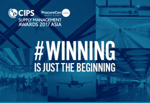 CIPS Supply Management Awards Asia 2017 Winners