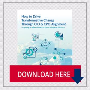 How to Drive Transformative Change Through CIO & CPO Alignment