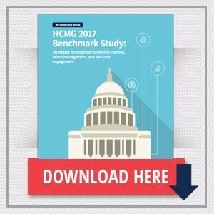 HCMG 2017 Benchmark Study: Strategies for targeted leadership training, talent management, and low-cost engagement