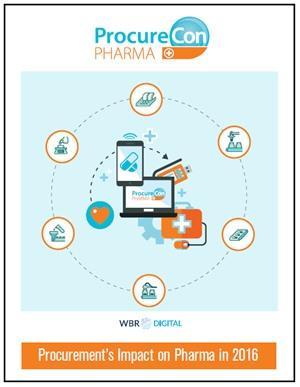 Procurement's Impact on Pharma in 2016