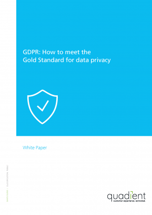 GDPR: How To Meet The Gold Standard For Data Privacy
