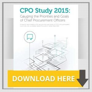 CPO Study 2015: Gauging the Priorities and Goals of Chief Procurement Officers