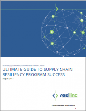 Ultimate Guide to Supply Chain Resiliency Program Success