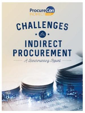 Challenges in Indirect Procurement - Benchmarking Report