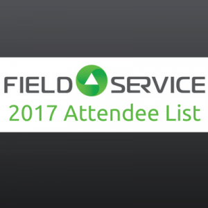 Field Service 2017 Attendee List