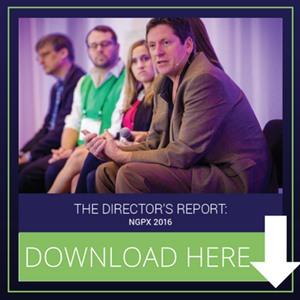 The Director's Report: NGPX 2016