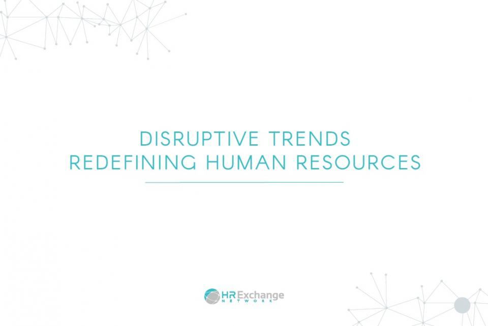 Disruptive Tech Trends_Redefining Human Resources report cover
