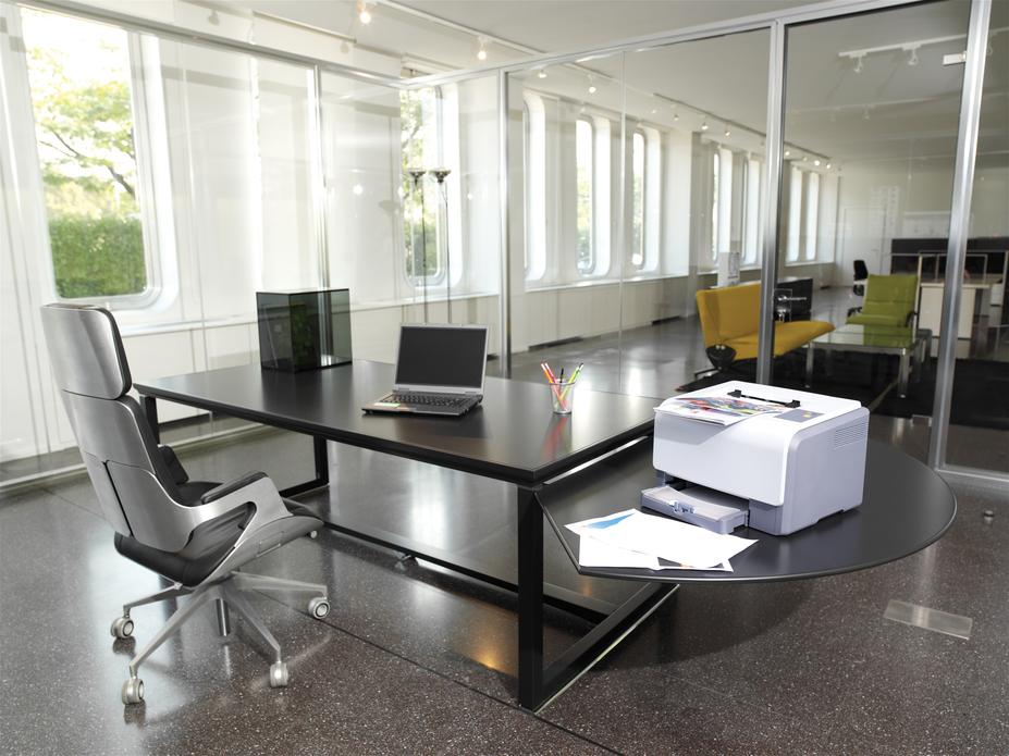 Business office with modern decoration
