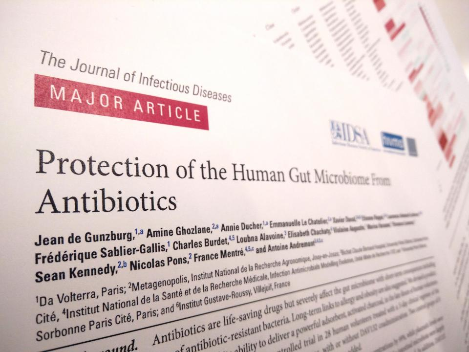 Antibiotics microbiome damage