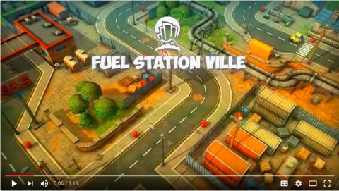Fuel Station Ville BP