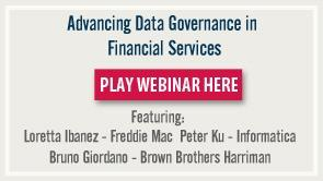 Advancing Data Governance in Financial Services