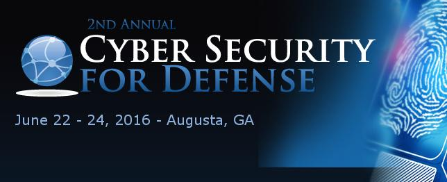 Cyber Security for Defense 2016