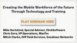 Creating the Mobile Workforce of the Future Through Technology and Training