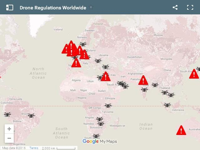 uav-regulations-worldwide