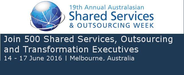 Shared Services 2016 Australia