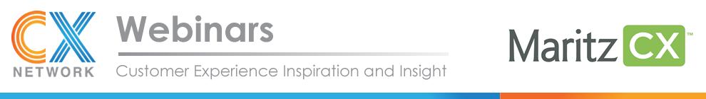 MaritzCX webinar banner