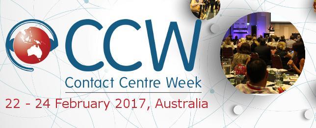 Contact Centre Week 2017 - Australia