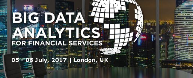 Big Data & Analytics for Financial Services - Jul 2017