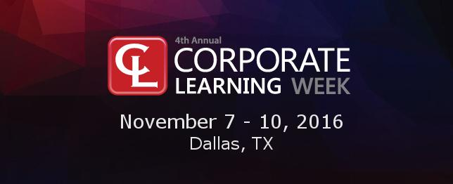 Corporate Learning Week 2016