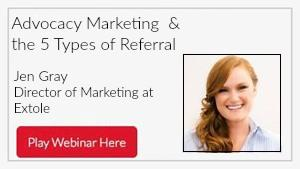 Advocacy Marketing & the 5 Types of Referral