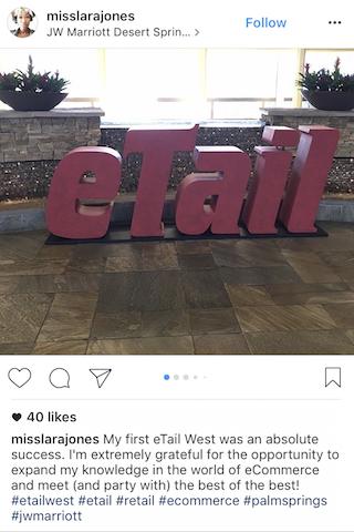 etail west 2017 insta 2