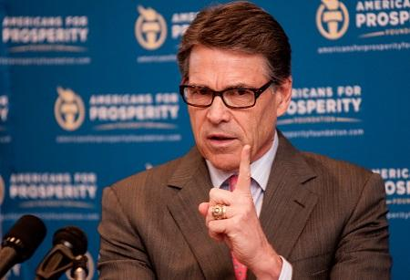 Rick Perry DOE Budget Cyber Security