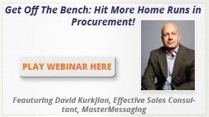 Hit More Home Runs in Procurement
