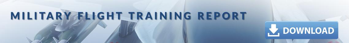 military-flight-training-report-banner